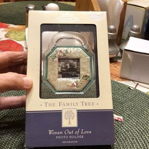 A Hallmark Keepsake Ornament